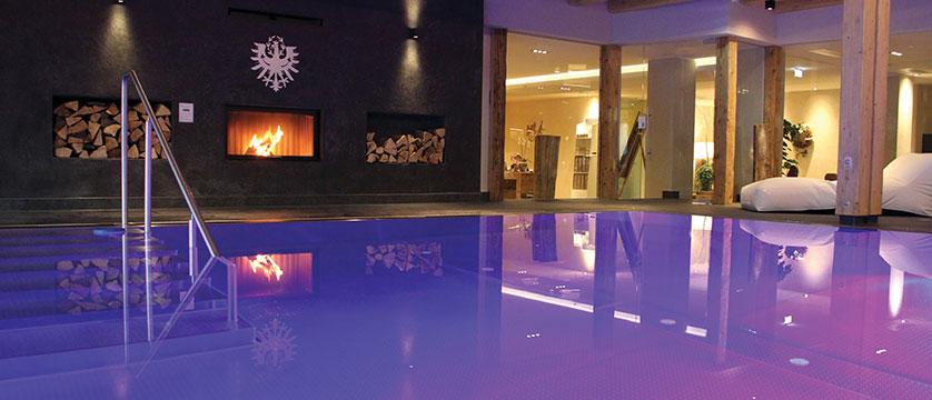 Krumers Post & Spa Hotel, Seefeld, Austria - indoor pool.jpg